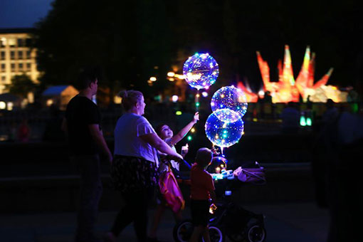 Australie: le festival Enlighten à Canberra