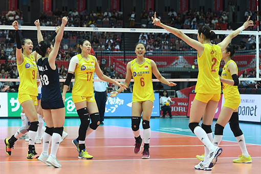 Coupe du monde de volleyball dames : Chine-Serbie