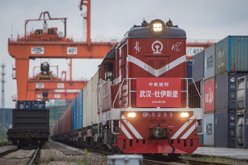 Wuhan reprend les services de train de marchandises Chine-Europe